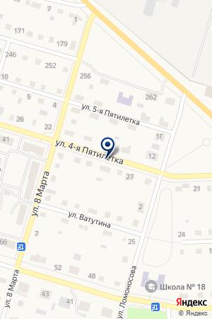 АПТЕКА ЛАНОТЕХ на карте Тавды