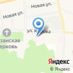 Уральский продукт на карте Исетского