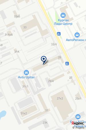 ПРОМТЕХКОМПЛЕКТ на карте Кургана