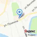 Пушкинский на карте Кургана