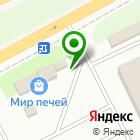 Местоположение компании Сибирские дома