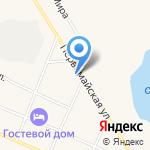 Демос Маркет на карте Исетского