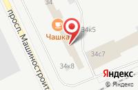 Схема проезда до компании Ломбард Рубин в Подольске