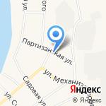 Ульянка на карте Исетского