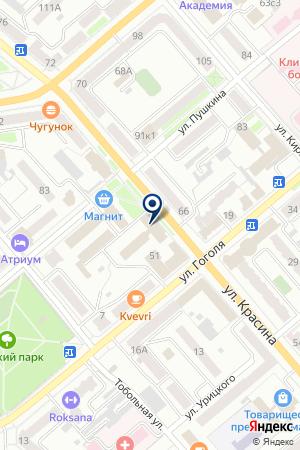 ПОЛИГРАФИЧЕСКАЯ ФИРМА ГРАФИКА на карте Кургана
