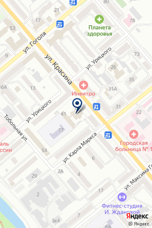РАДИОСТАНЦИЯ ГРИФ на карте Кургана