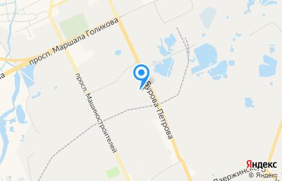 Местоположение на карте пункта техосмотра по адресу г Курган, ул Бурова-Петрова, д 103 стр 1