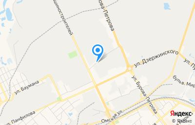 Местоположение на карте пункта техосмотра по адресу г Курган, ул Химмашевская, д 2 стр 1