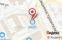 Схема проезда до компании Магнит-Косметик в Подольске