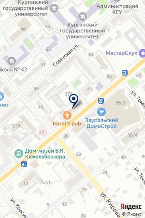 МАГАЗИН ОКОН АРТ-ЛАЙН на карте Кургана