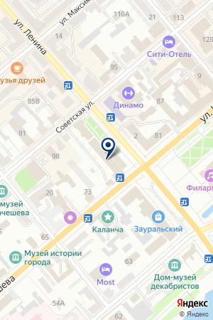 ТФ АКТИТРЭЙД-К на карте Кургана