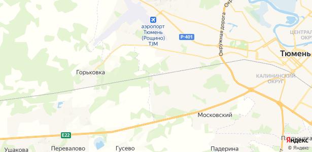 Утешевский на карте