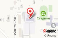 Схема проезда до компании Вишенка в Луговом