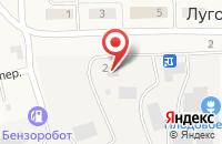 Схема проезда до компании Фельдшерско-акушерский пункт в Луговом