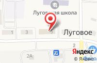 Схема проезда до компании Продуктовый магазин на Плодовой в Луговом