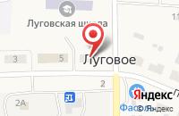Схема проезда до компании Тюменский садовый питомник в Луговом