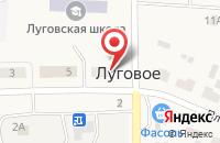 Схема проезда до компании Швейная мастерская в Луговом