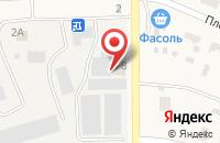 Схема проезда до компании Плодовое в Луговом
