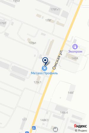 ТОРГОВЛЯ ЭЛЕКТРОСТРОЙКОМПЛЕКТ на карте Кургана