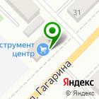 Местоположение компании Инструмент-центр