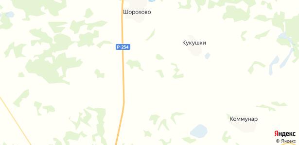 Зерновой на карте