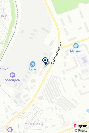ГОРОДСКАЯ ПОЛИКЛИНИКА N 2 (СМОТРОВАЯ ПОЛИКЛИНИКА) на карте Нягани