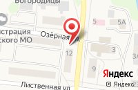 Схема проезда до компании Меркурий в Московском