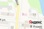 Схема проезда до компании Стоматологическая поликлиника в Московском