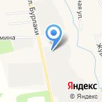 Лесопильный цех на карте Московского