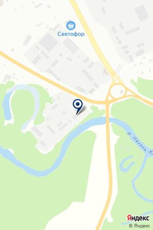 ГЕОФИЗСЕРВИС на карте Нягани