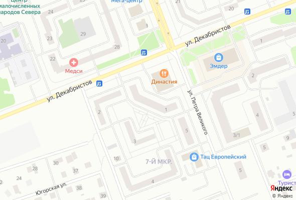 купить квартиру в ЖК Жилой дом №1 в микрорайоне 7