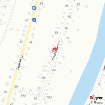 г. Курган, ул. Советская,75 на карта