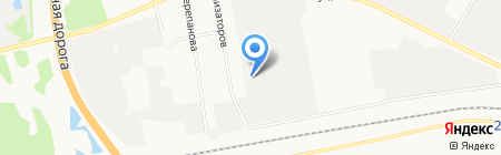 Оптовый склад-магазин на карте Тюмени