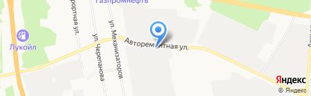 ТюменьАгроСервис на карте Тюмени