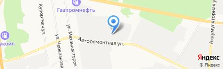 СОВ Аудит на карте Тюмени