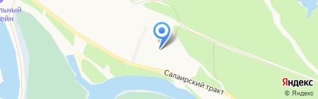 Родник на карте Тюмени