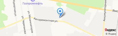 Тюменьагроснаб на карте Тюмени
