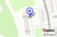 Схема проезда до компании БАНКОМАТ СБЕРБАНК РОССИИ в Нягане