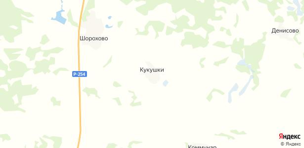 Кукушки на карте