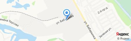 Мастер-Град на карте Тюмени