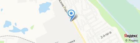 АРИНА на карте Тюмени
