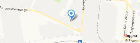 Стелла Моторс на карте Тюмени