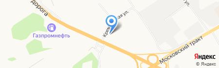 УГА-Авто на карте Тюмени