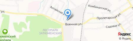ГМС Нефтемаш на карте Тюмени