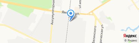 Демидов-Арт на карте Тюмени