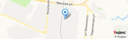ТЛКМ на карте Тюмени