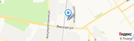 Аскона на карте Тюмени