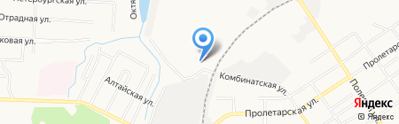 Сибалюкс на карте Тюмени