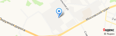 СтальПлюс на карте Тюмени