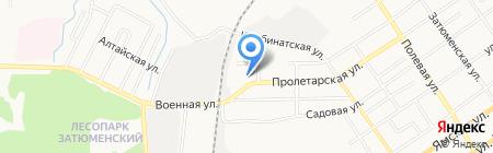 СеверКомплектСтрой на карте Тюмени